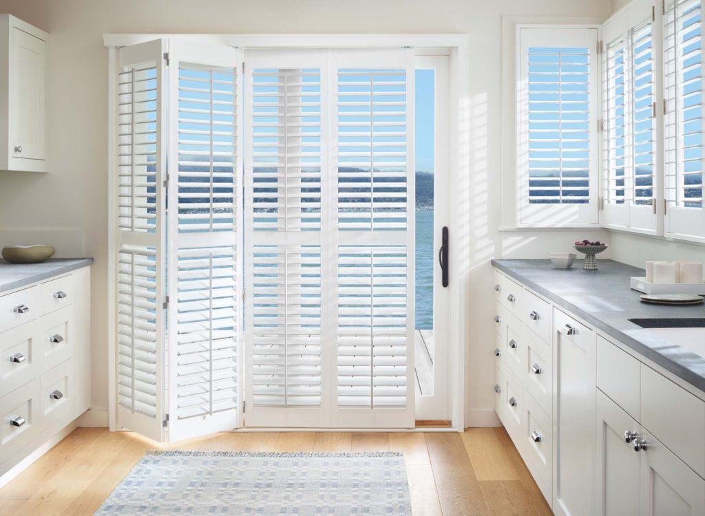 Kitchen Planation shutters